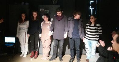 Versuri de Răzvan Ducan…ca probă interpretativă la Universitatea de Artă (Teatrală) Tg.Mureș