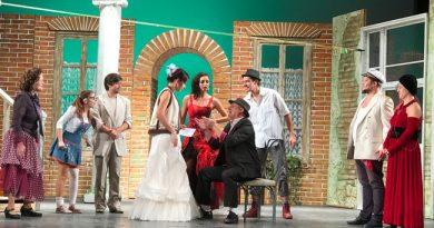 Comedie muzicală la Tîrnăveni: Îndrăgostiţii din Ancona