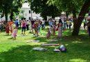 La Târgu Mureş copiii au petrecut 1 Iunie pe iarbă
