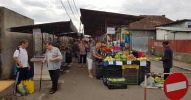 Aici funcţionează noua piaţă agro-alimentară