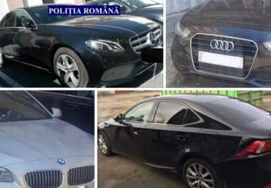 Peste 50 de maşini date în urmărire în Spaţiul Schengen, găsite în România, în ultima săptămână+