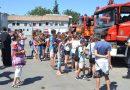 Tineri din Târnăveni în vizită la ISU Mureş (G)
