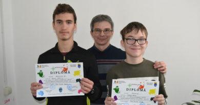 """Premii la geografie pentru elevii de la Școala Gimnazială """"Traian"""""""