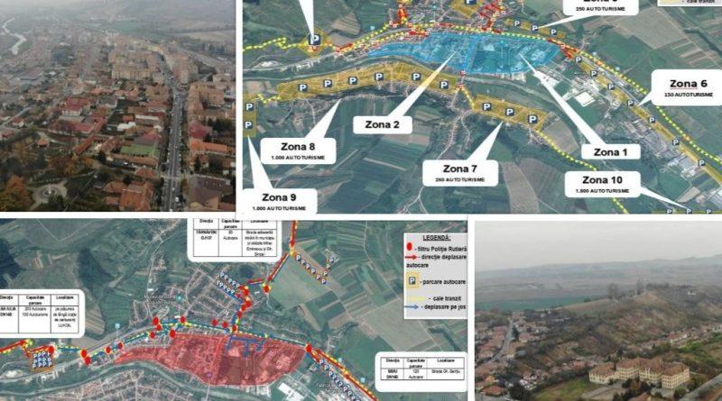 Vizita Papei Francisc La Blaj Harta Spaţiilor De Parcare Special