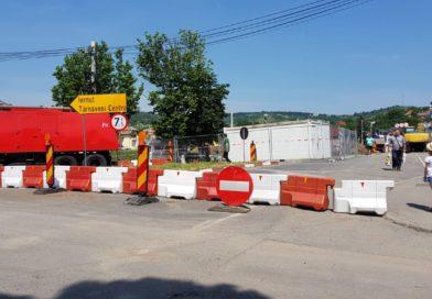 Cum este deviat traficul rutier la Târnăveni