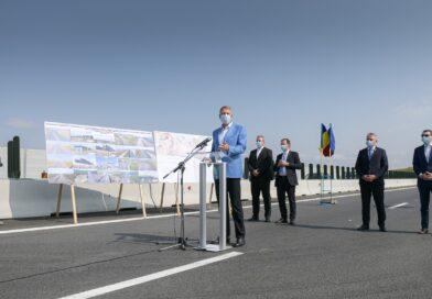 CNAIR deschide circulația rutieră pe încă 17,9 km din Autostrada Transilvania
