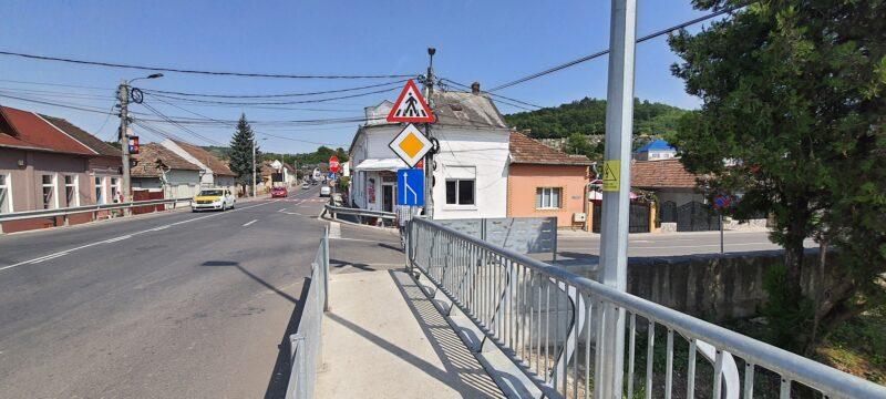 Kaufland Târnăveni. Cel mai dificil acces auto și pietonal din județ