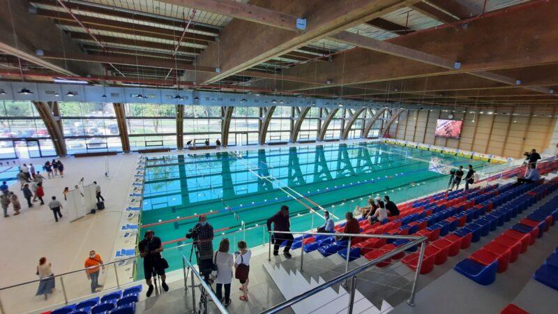 Bazin olimpic pentru competiții internaționale la Târgu Mureș