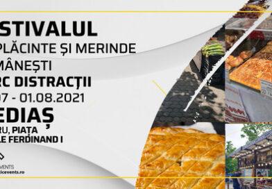 Festival de plăcinte și merinde românești la Mediaș