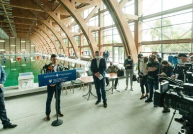 Vineri se inaugurează Bazinul Olimpic de la Târgu Mureș
